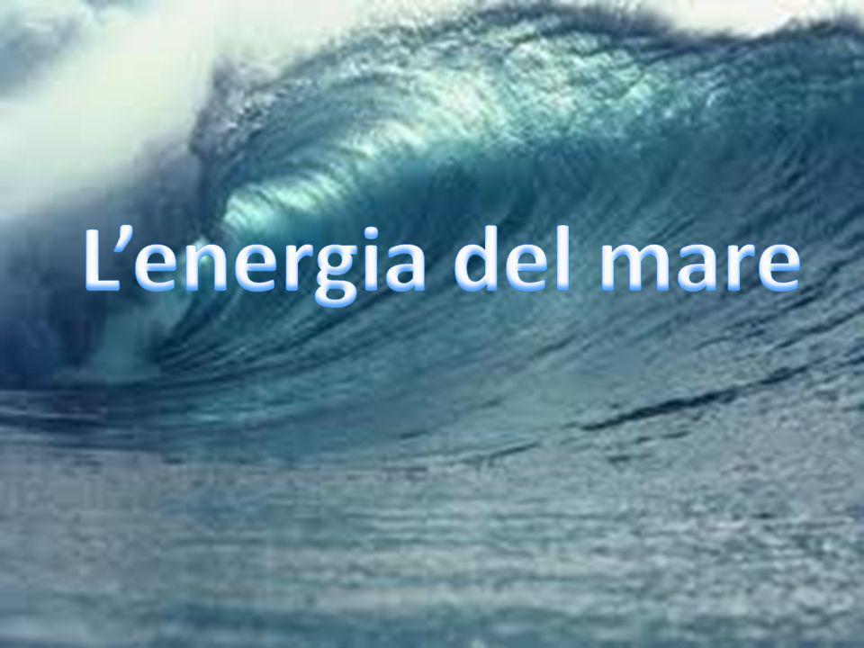 L'energia del mare