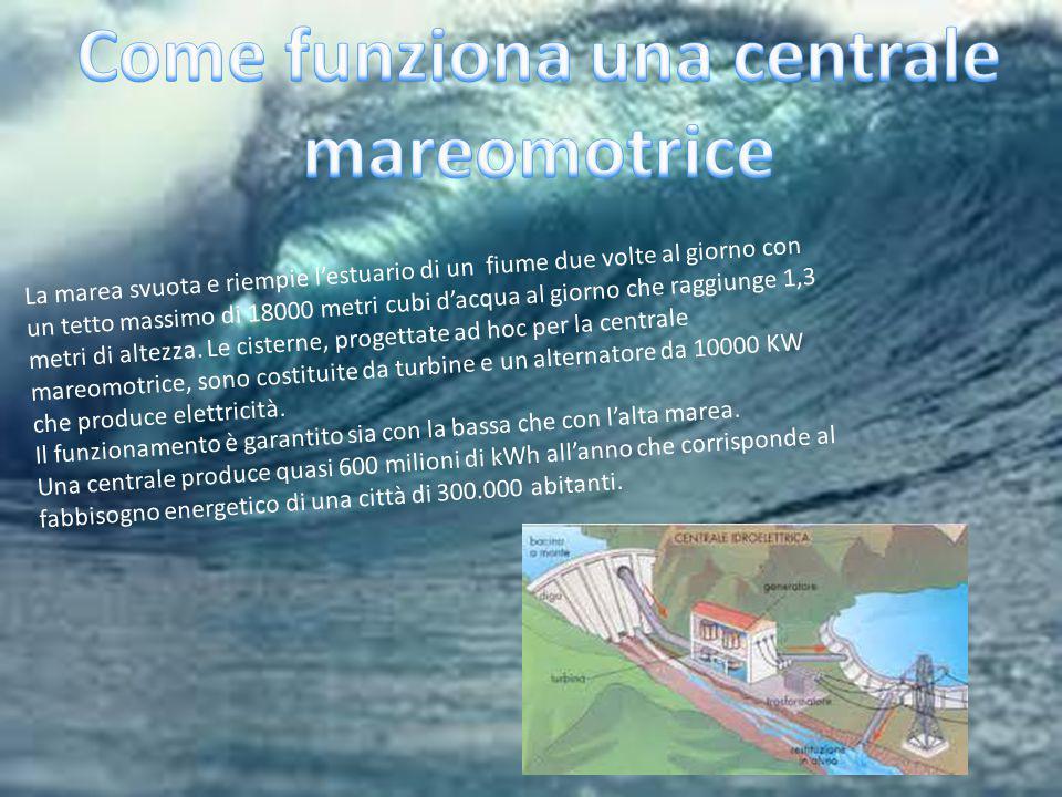 Come funziona una centrale mareomotrice