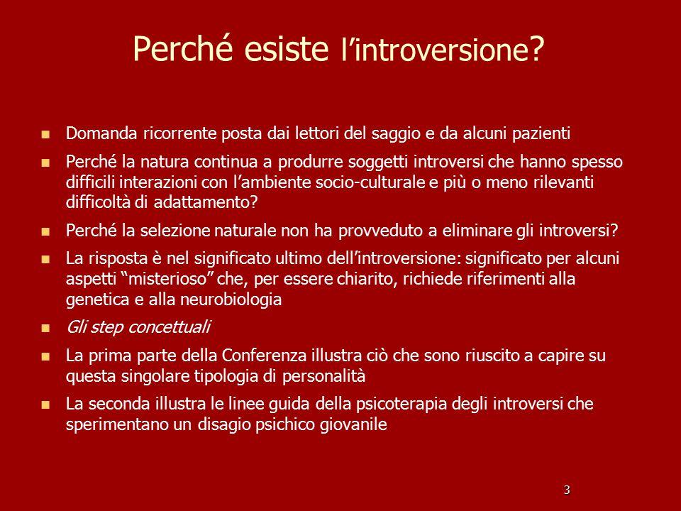 Perché esiste l'introversione
