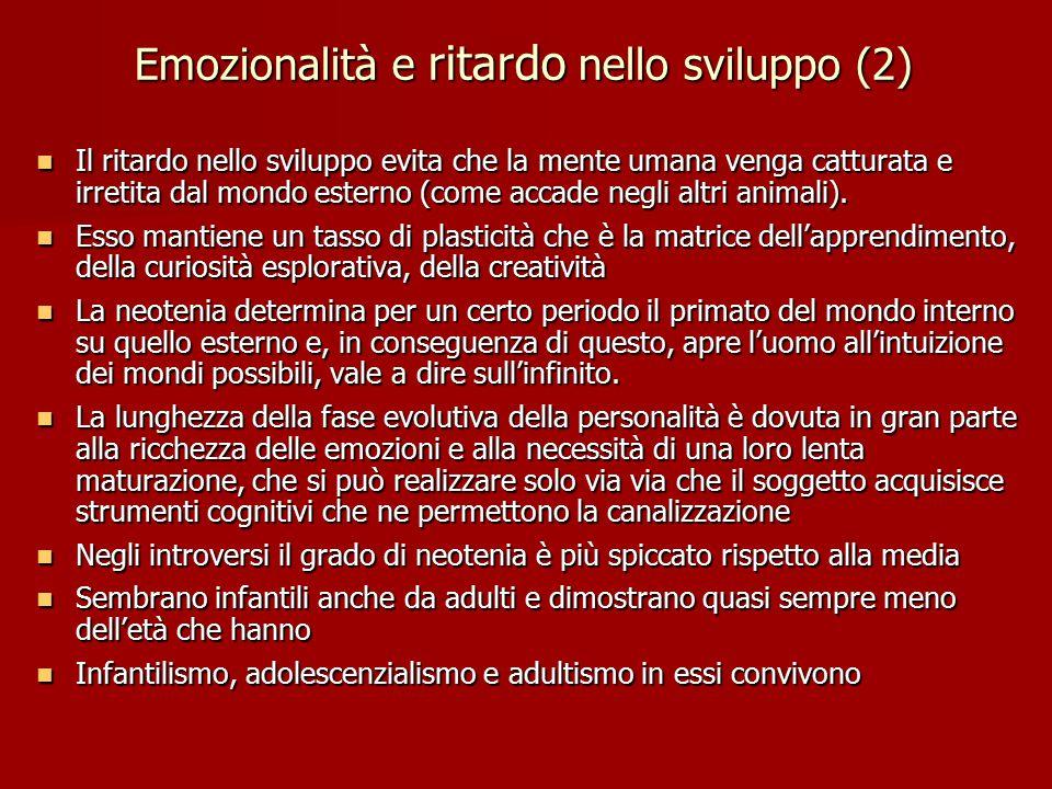 Emozionalità e ritardo nello sviluppo (2)