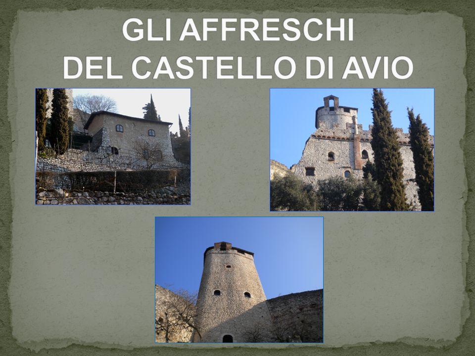 GLI AFFRESCHI DEL CASTELLO DI AVIO