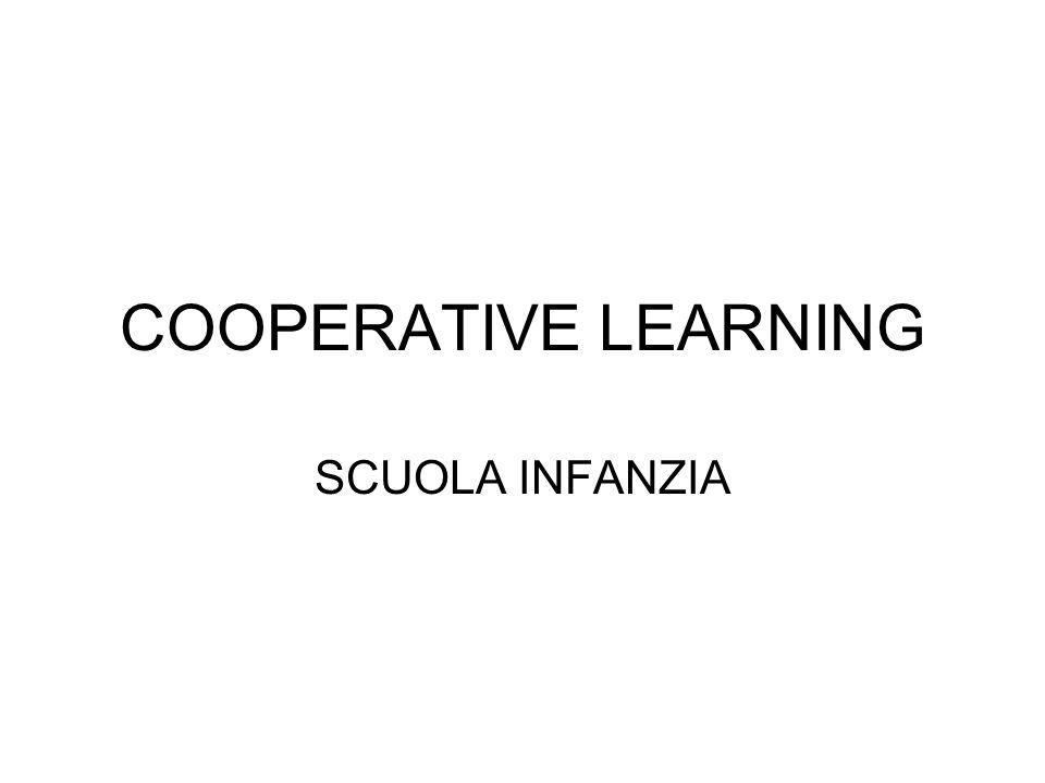 COOPERATIVE LEARNING SCUOLA INFANZIA