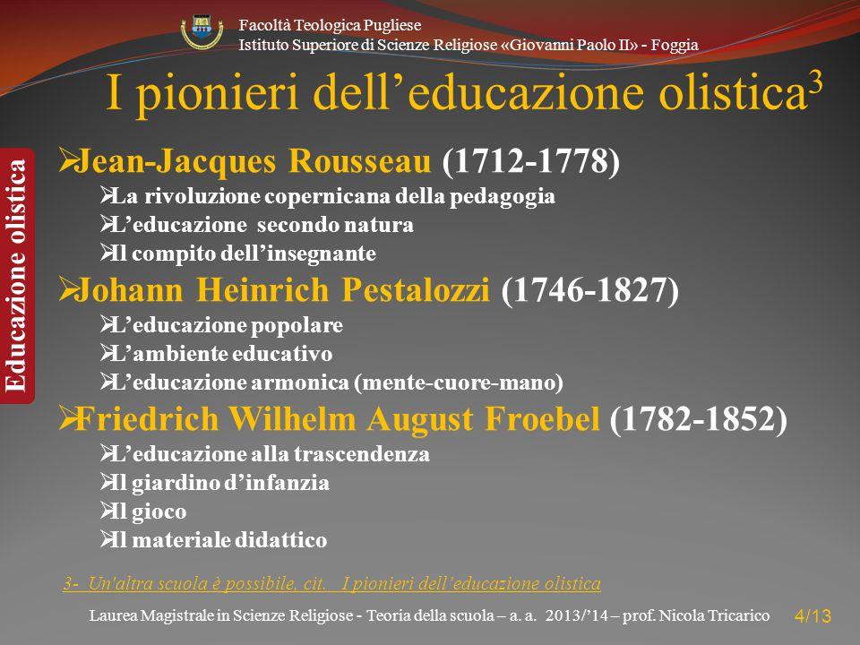 I pionieri dell'educazione olistica3