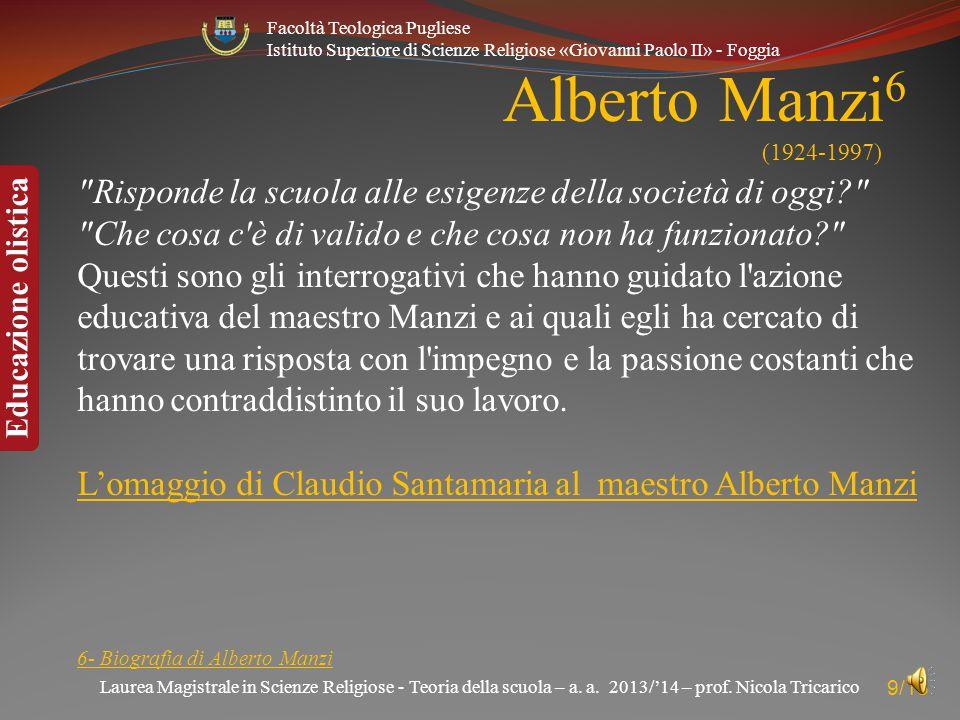 Alberto Manzi6 (1924-1997)