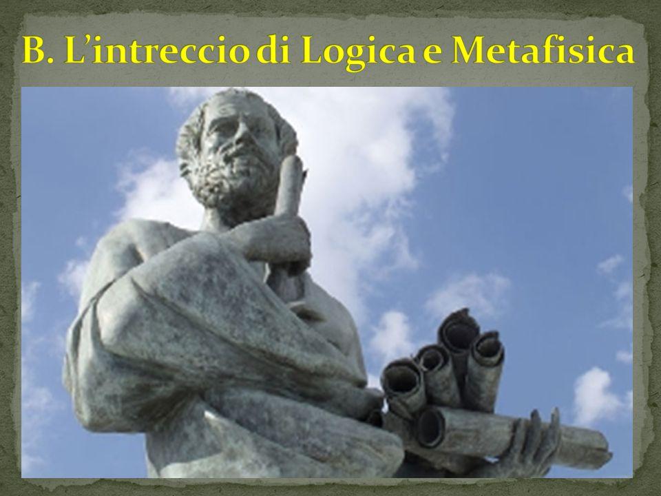 B. L'intreccio di Logica e Metafisica