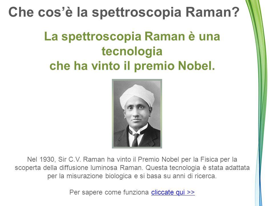 Che cos'è la spettroscopia Raman