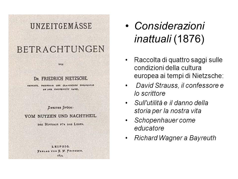 Considerazioni inattuali (1876)