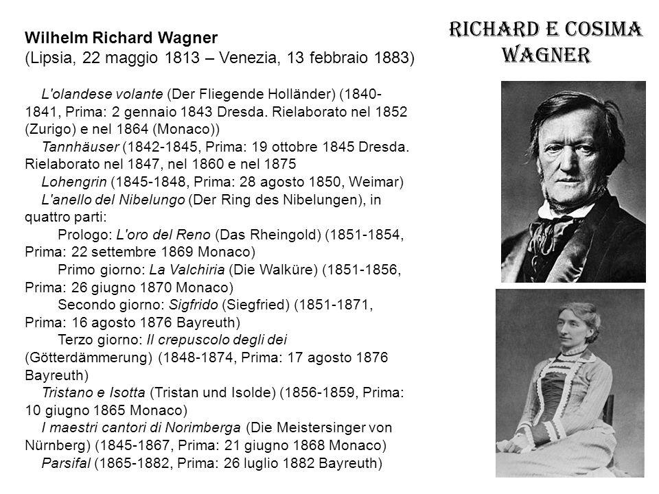 Richard e Cosima Wagner