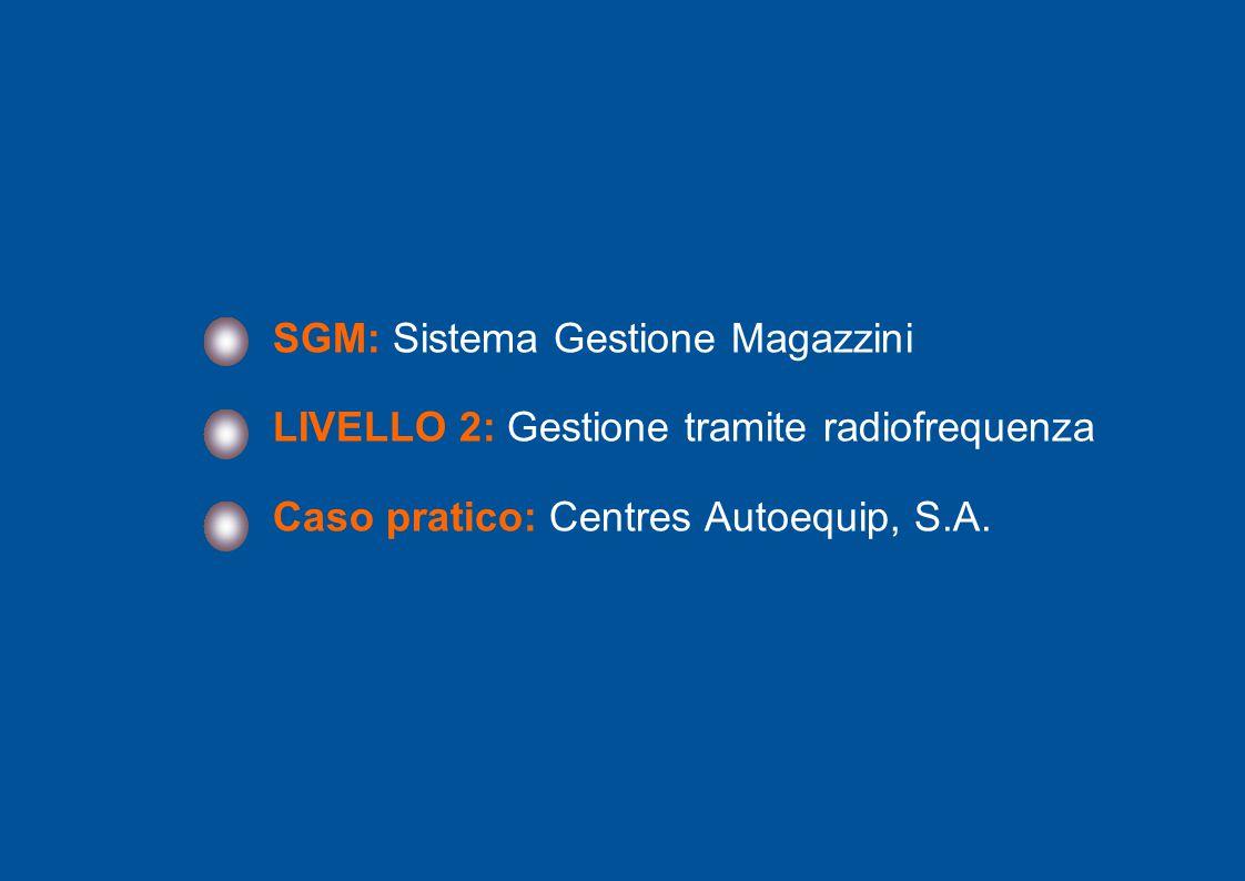SGM: Sistema Gestione Magazzini
