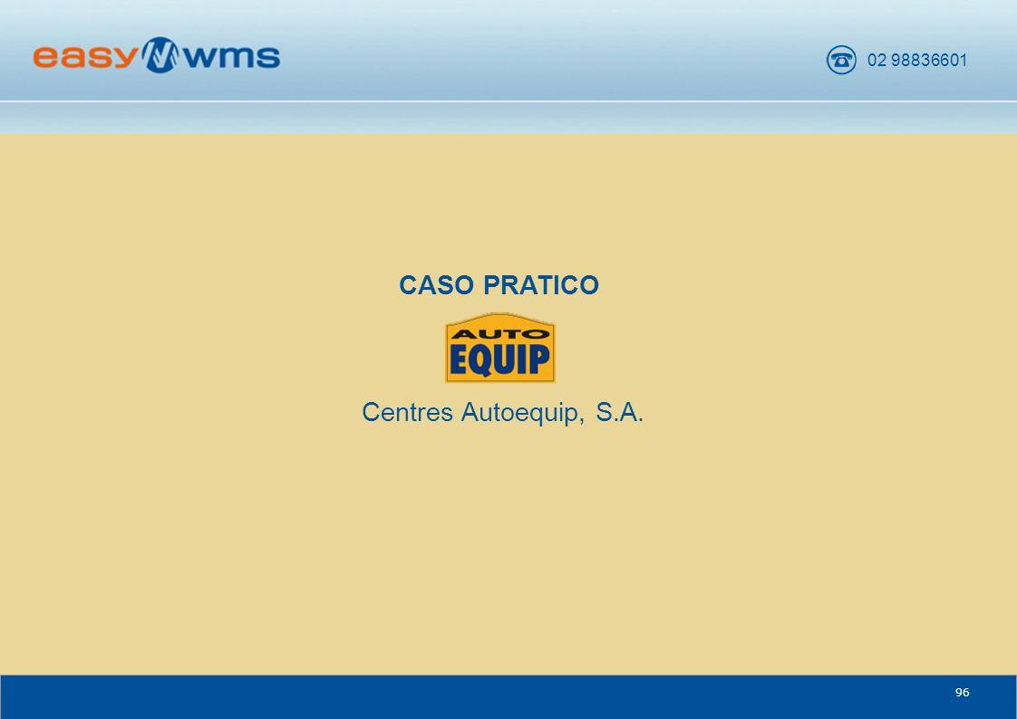 CASO PRATICO Centres Autoequip, S.A. CENTRES AUTOEQUIP, S.A. 96