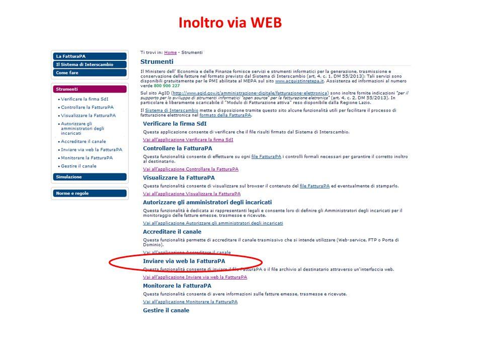 AVV. CARMINE BUONOMO Inoltro via WEB WWW.STUDIOLEGALEBUONOMO.IT