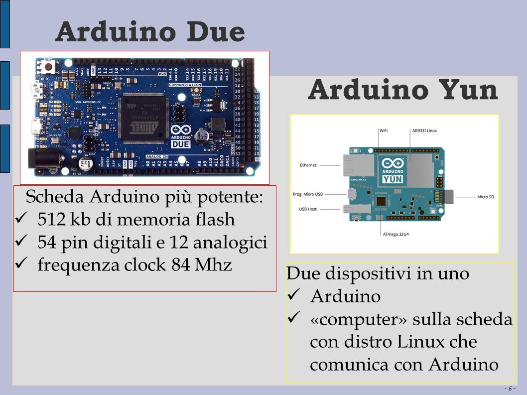 Scheda Arduino più potente: