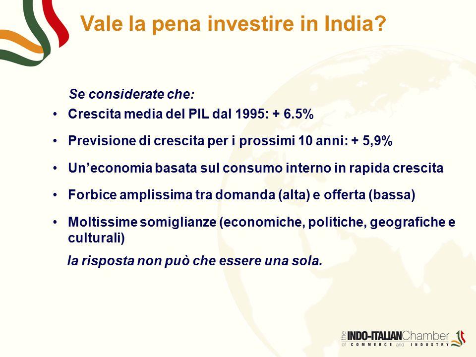 Vale la pena investire in India