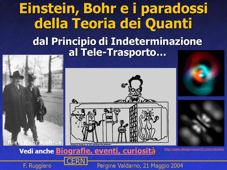 Einstein, Bohr e i paradossi della Teoria dei Quanti