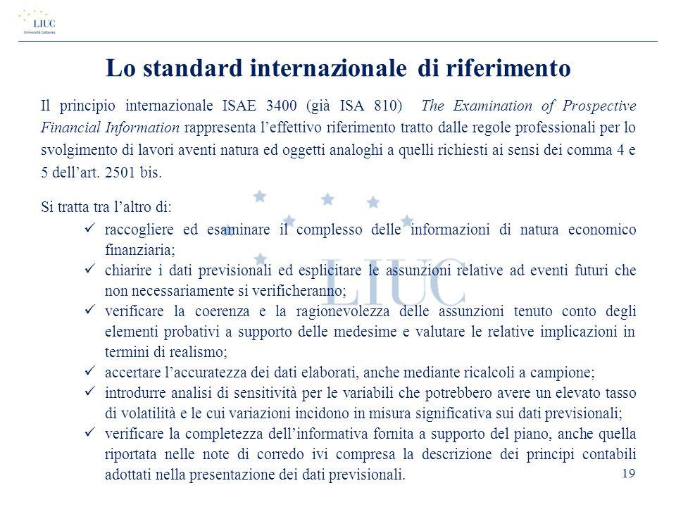 Lo standard internazionale di riferimento