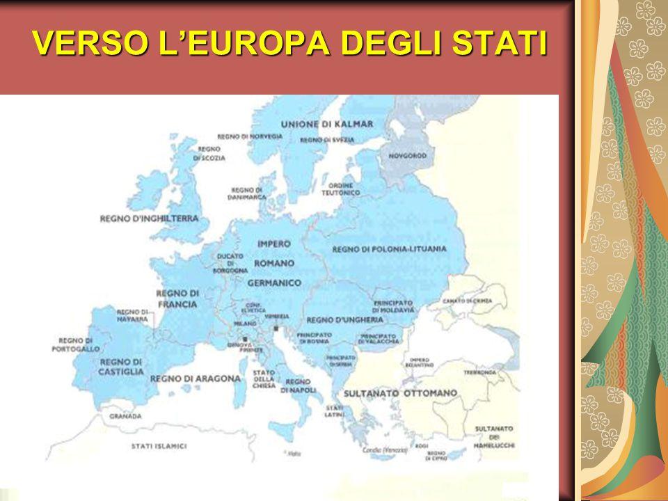 VERSO L'EUROPA DEGLI STATI