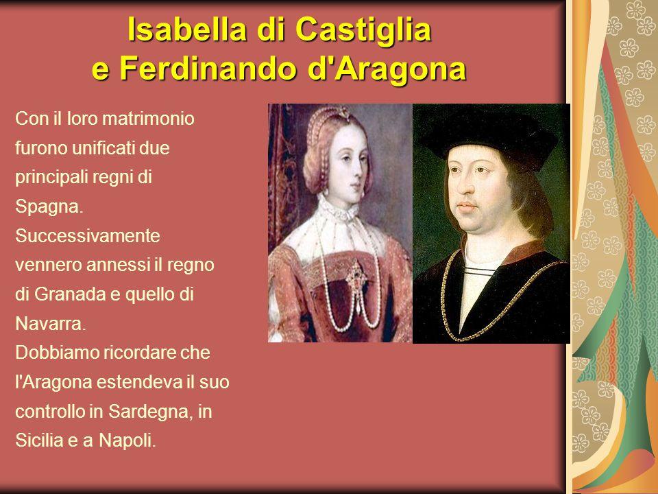 Isabella di Castiglia e Ferdinando d Aragona