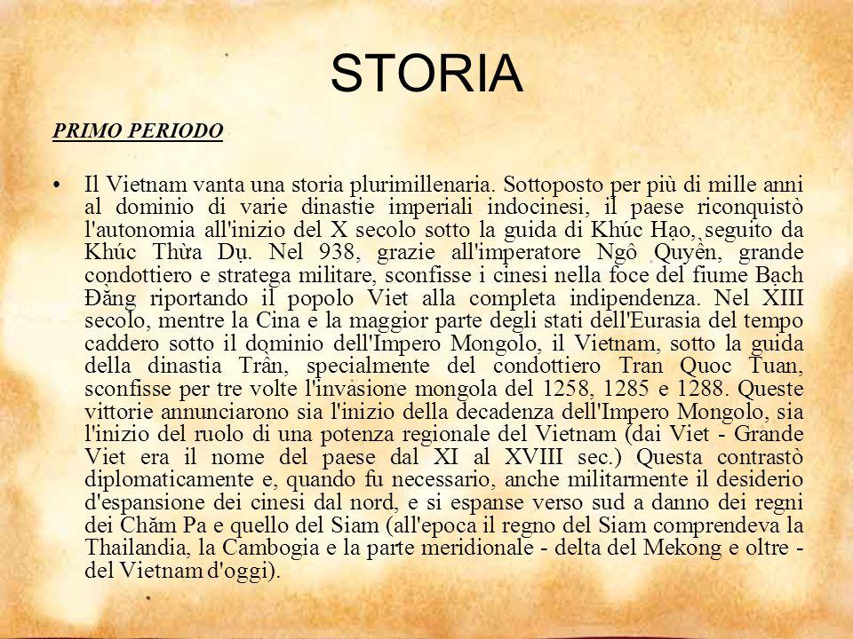 STORIA PRIMO PERIODO.