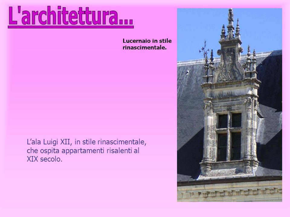 L architettura... Lucernaio in stile rinascimentale.