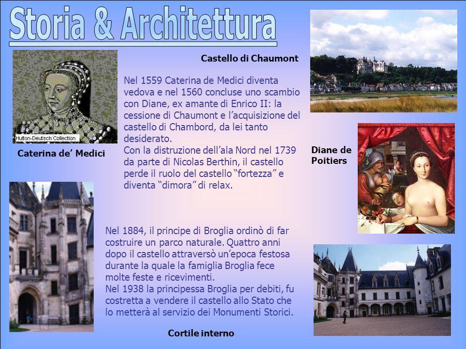 Storia & Architettura Castello di Chaumont.