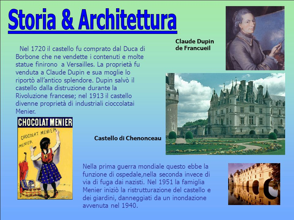 Storia & Architettura Claude Dupin de Francueil.