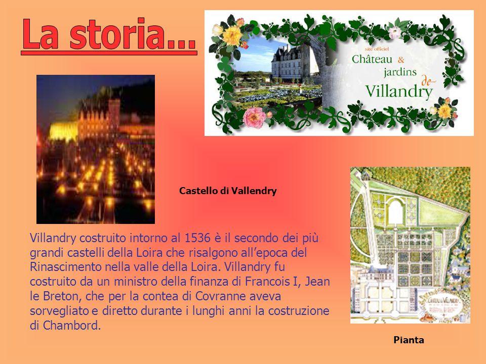 La storia... Castello di Vallendry.