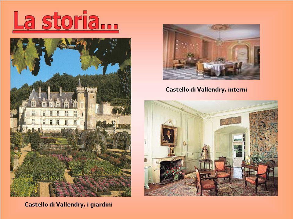 La storia... Castello di Vallendry, interni