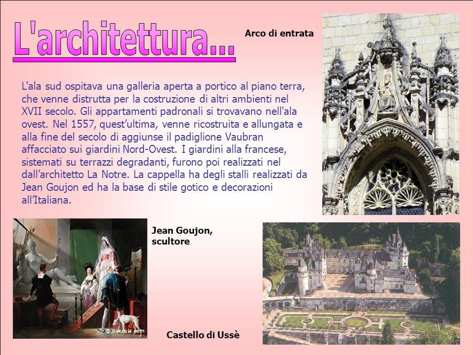 L architettura... Arco di entrata.