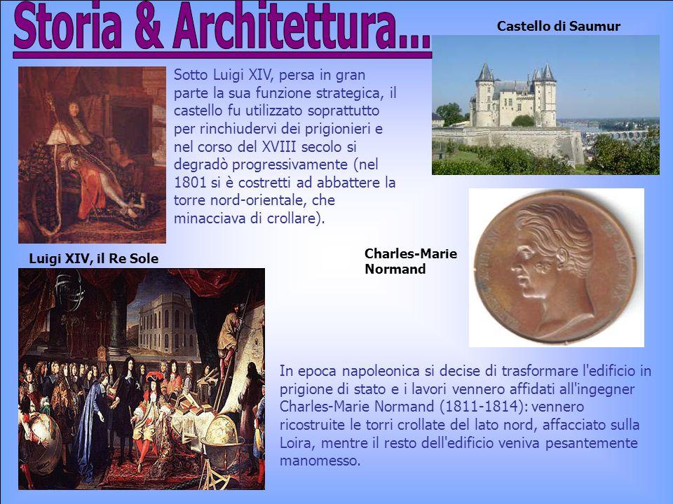 Storia & Architettura... Castello di Saumur.