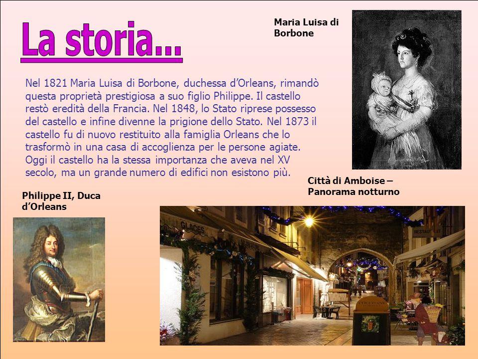 Maria Luisa di Borbone La storia...