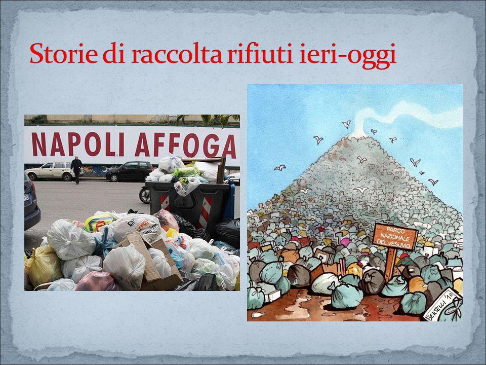 Storie di raccolta rifiuti ieri-oggi