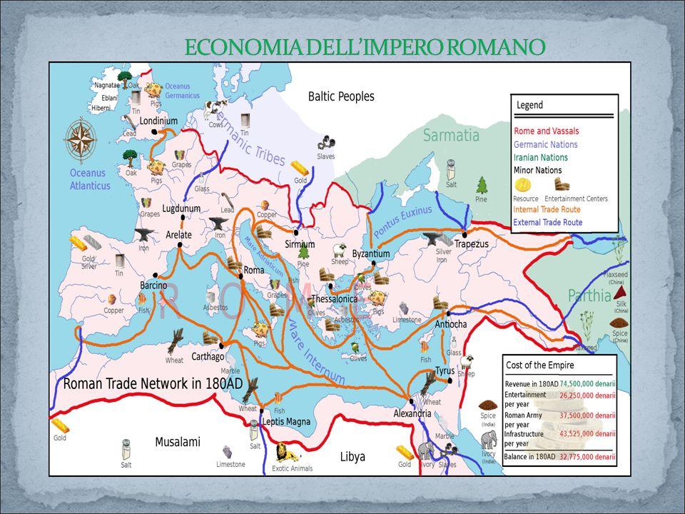 ECONOMIA DELL'IMPERO ROMANO