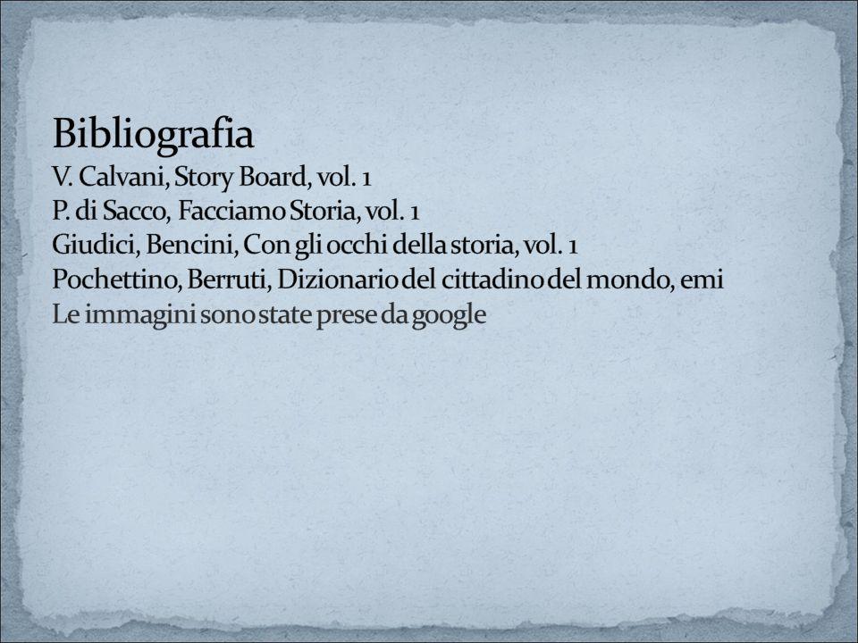 Bibliografia V. Calvani, Story Board, vol. 1 P