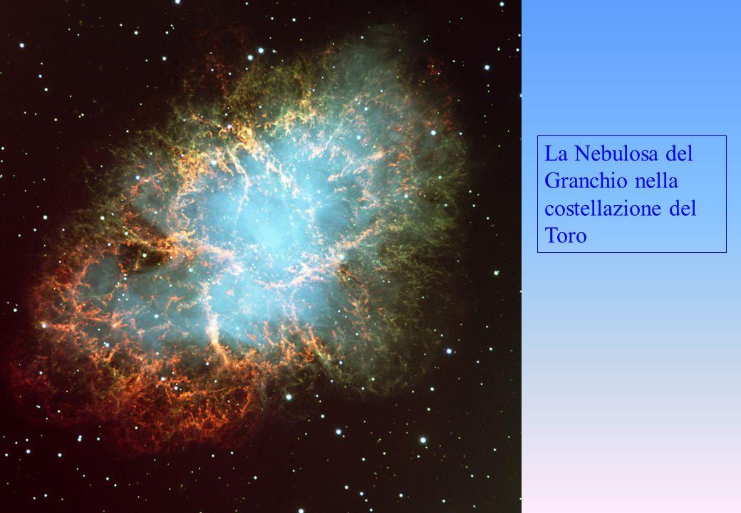 La Nebulosa del Granchio nella costellazione del Toro