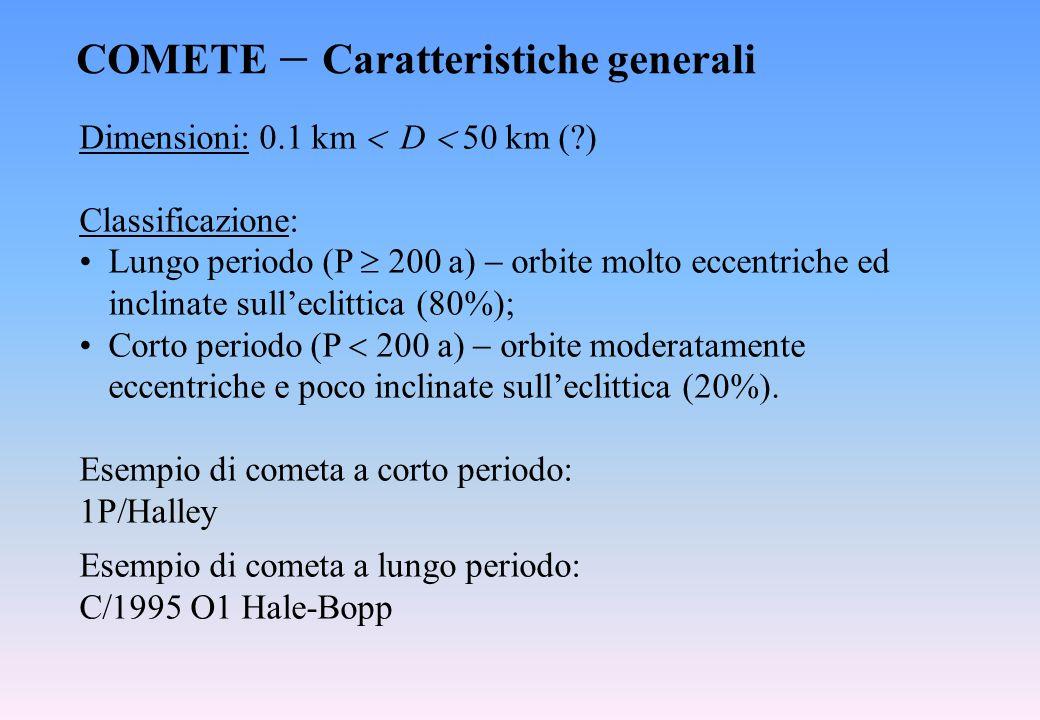 COMETE  Caratteristiche generali