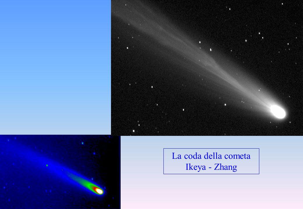 La coda della cometa Ikeya - Zhang