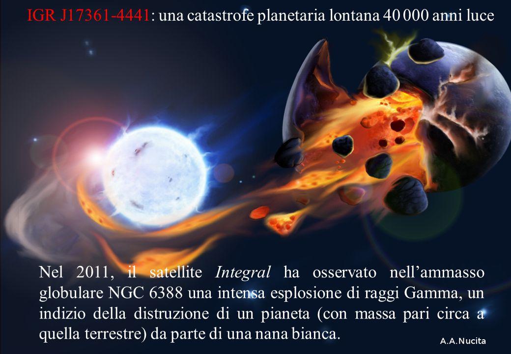 IGR J17361-4441: una catastrofe planetaria lontana 40 000 anni luce