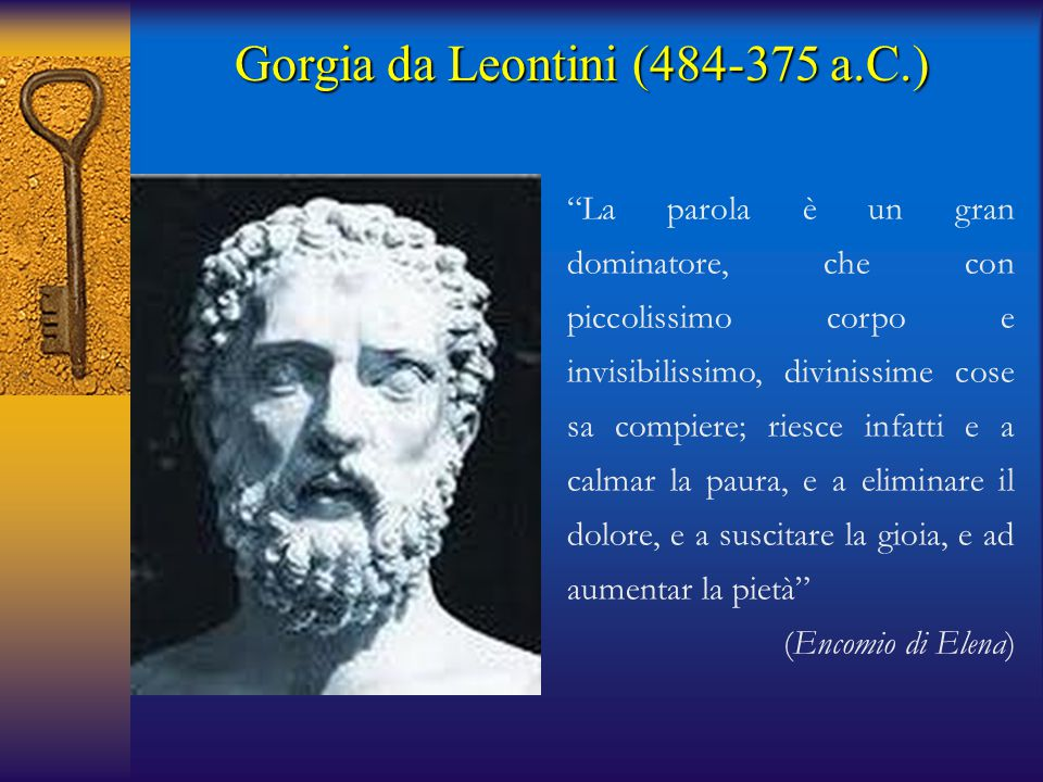 Gorgia da Leontini (484-375 a.C.)