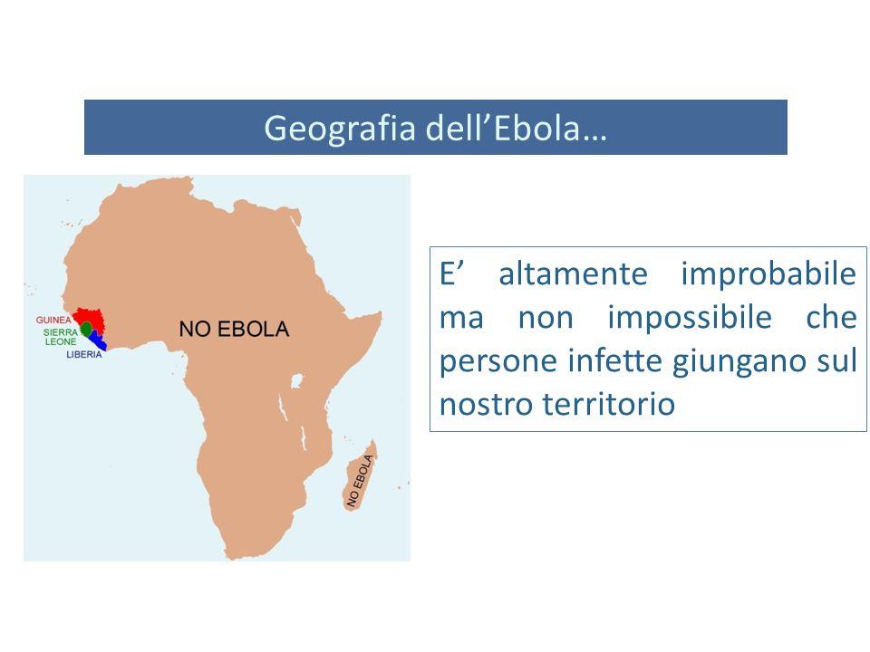 Geografia dell'Ebola…