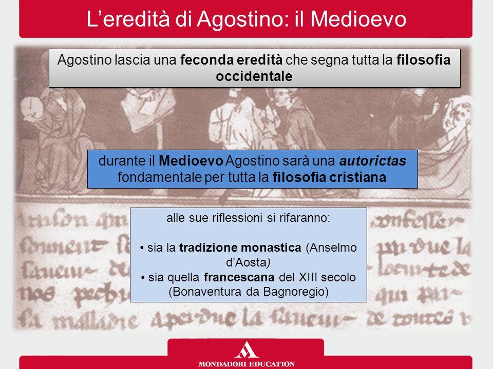 L'eredità di Agostino: il Medioevo