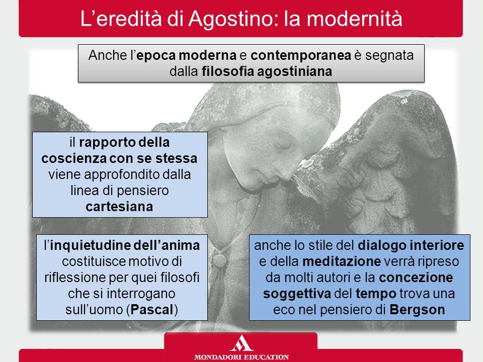 L'eredità di Agostino: la modernità