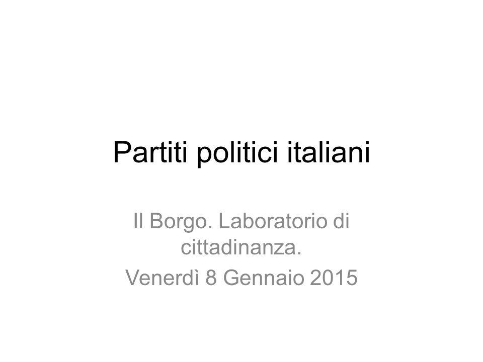 Partiti politici italiani