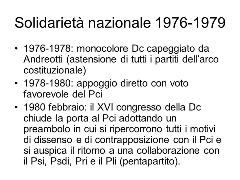 Solidarietà nazionale 1976-1979