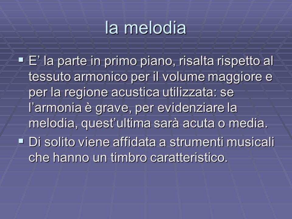 la melodia