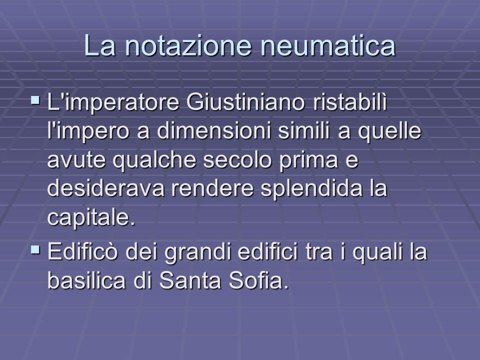 La notazione neumatica