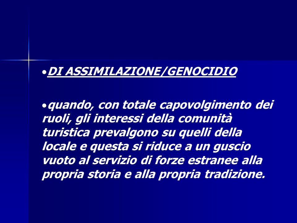 DI ASSIMILAZIONE/GENOCIDIO