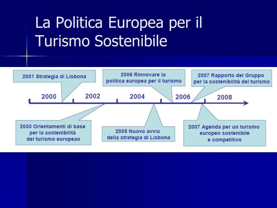 La Politica Europea per il Turismo Sostenibile
