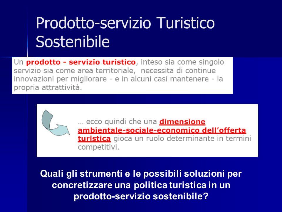Prodotto-servizio Turistico Sostenibile