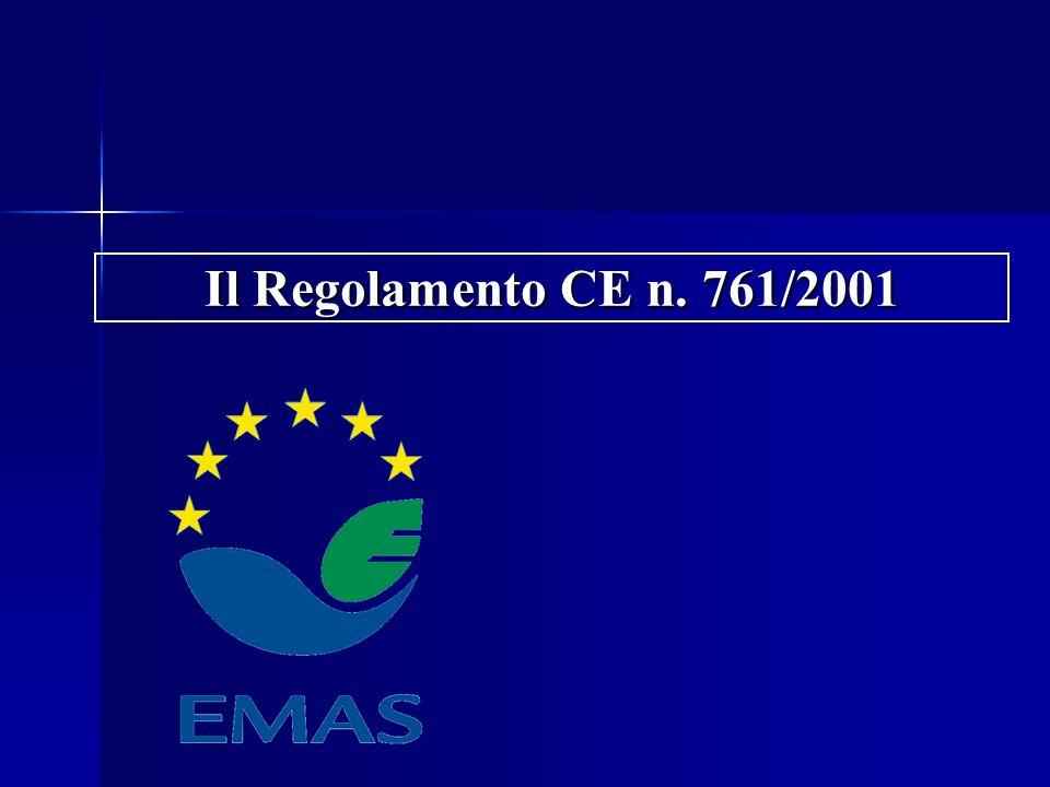 Il Regolamento CE n. 761/2001