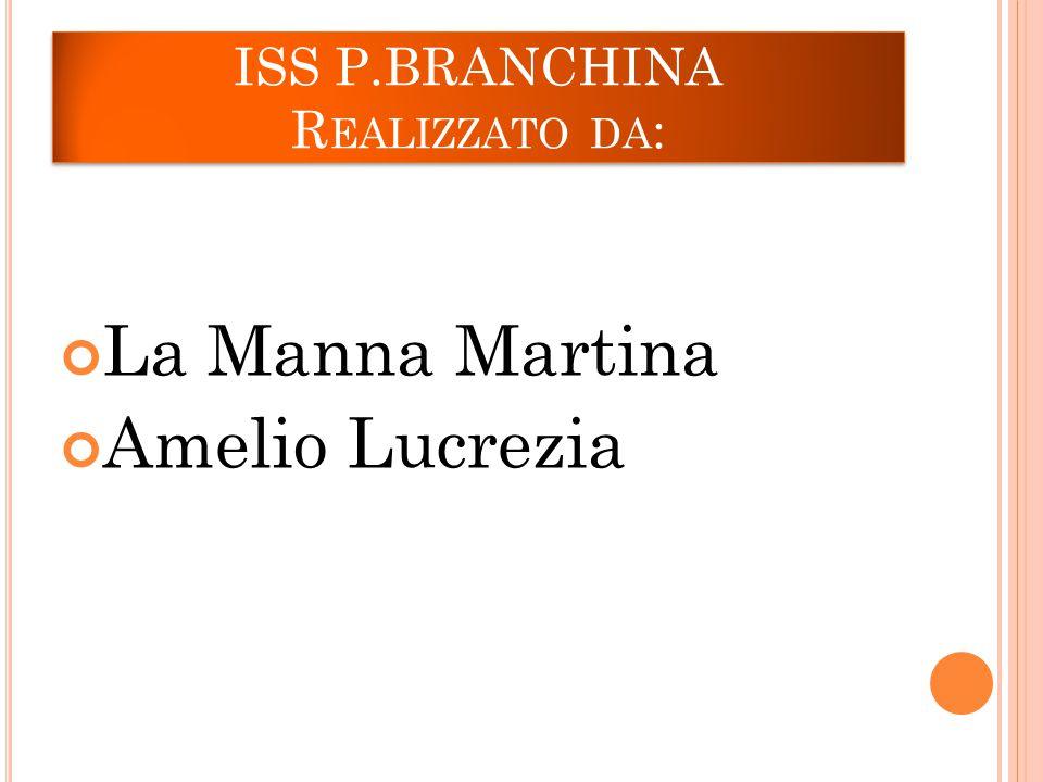 ISS P.BRANCHINA Realizzato da:
